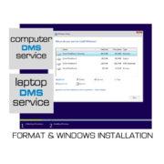 Format & εγκατάσταση λειτουργικού Windows