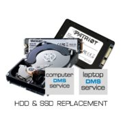 HDD SSD REPLACEMENT LOGO