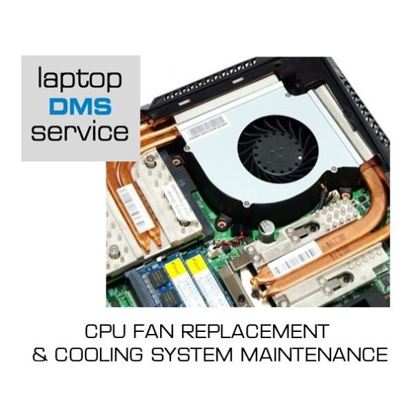 CPU FAN REPLACEMENT & COOLING SYSTEM MAINTENANCE