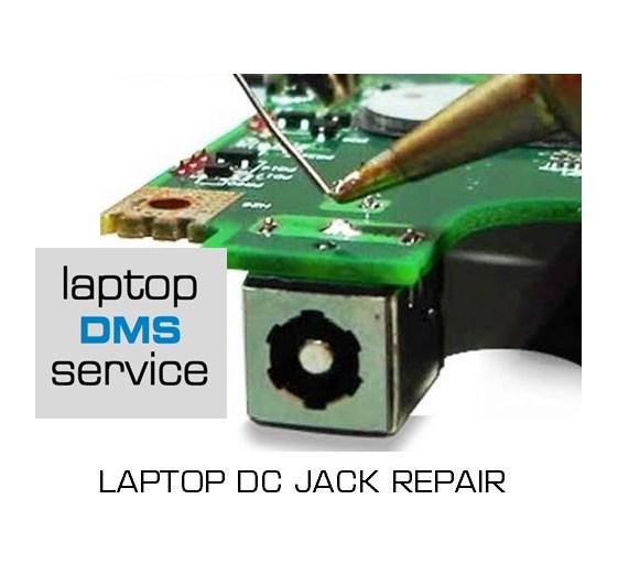 dc jack repair logo